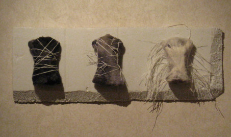 """Unbound"" – Felt and Japanese Paper"